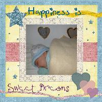 Sleeping Happiness