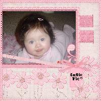 Cutie pie in pink