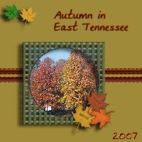 Autumn in East TN