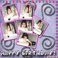 Chelsey's First Birthday