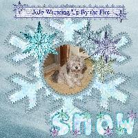 JoJo Warming by the fire