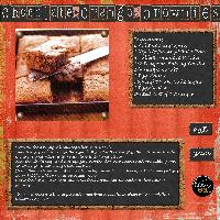 Low Fat Chocolate Orange Brownies
