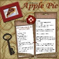 Old Fashion Apple Pie