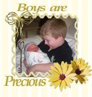 Boys are precious