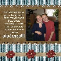 Sisters always love