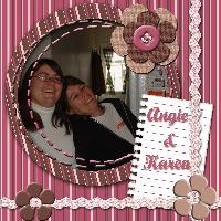 Angie and Karen