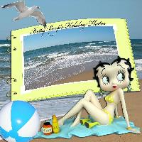 Betty Boop's Holiday Photos
