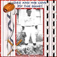 Dad's Love of Baseball
