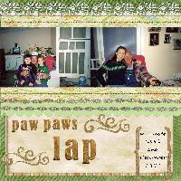 Paw Paw's Lap