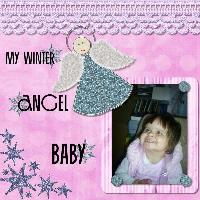 My Winter Angel Baby