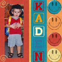 my 1st day at Kindy