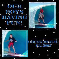 Our Boys having fun!
