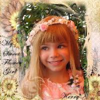My Sweet Flower Girl!