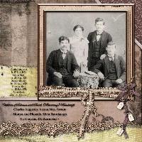 Children of Solomon and Sarah Browning Rumbaugh