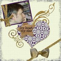 My heart, my star