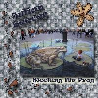 Meeting Mr Frog