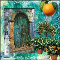 A Greek Door