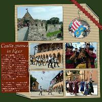 Castle Games in Eger