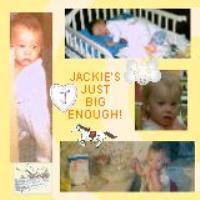 Jackie growin up