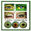 green variation eye collage