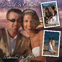 David & Christine's Wedding