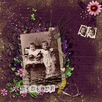 Sisters, old time.