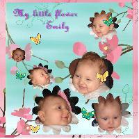 My little flower..Emily