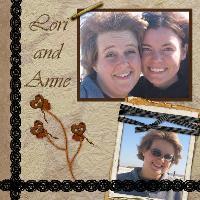 Lori and Anne