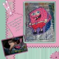 Pink Bob Cake