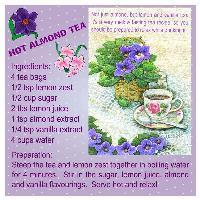 HOT ALMOND TEA