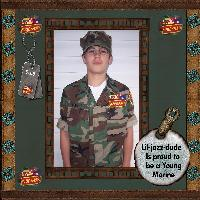 A Proud Young Marine