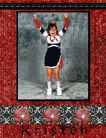 Kristen Cheerleading