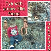 Tye's new little friend