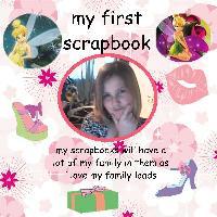 my first scrapbook