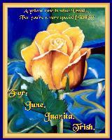 For June, Juanita and Trish