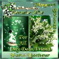 may day best wishes,lilly of the valley