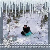 Fun In Wisconsin Snow