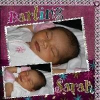 Darling Sarah