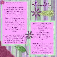 a good recipe for friendship