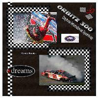 Nascar-Harvick Sweeps Daytona