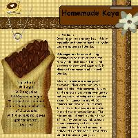 Homemade Kaya