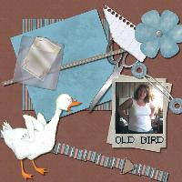 Old Bird Addicted To Scrapping!!