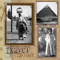 Egyptian Scenes 1954