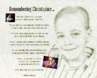 Remembering Christopher