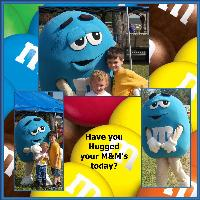 Have you hugged your M&M today?