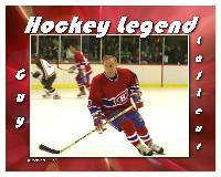 Hockey Legend Guy Lafleur