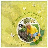 ~Happy Birthday Mom~