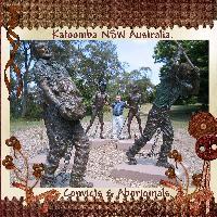 Convicts and Aboriginals.