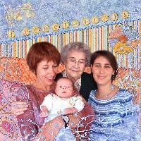 4 generation of women