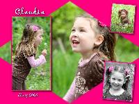 Claudia on the nature trail